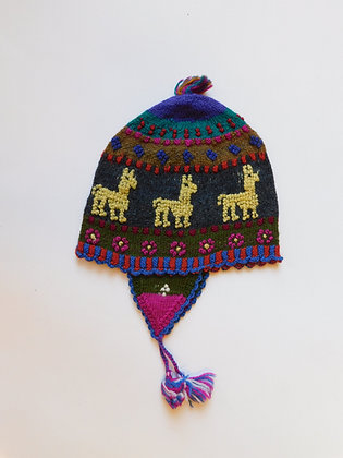 """""""Chullos"""" - Andean Textile Hats & Beanies-Kids"""