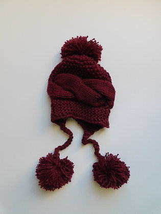 """Chullos"" -  Textile Beanies-Kids/Adults"