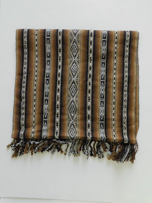 Textile Table Runner/Shawl from Andes - Organic - Handma