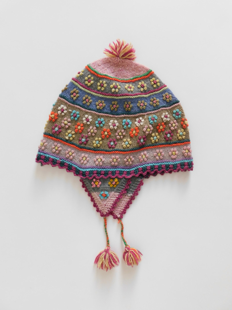 """Chullos"" - Andean Textile Hats"