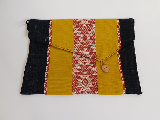 "Pouch ""Wayapa ""- Andean Floral Design"