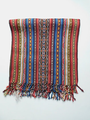 Textile Table Runner/Shawl from Andes - Organic - Handmade