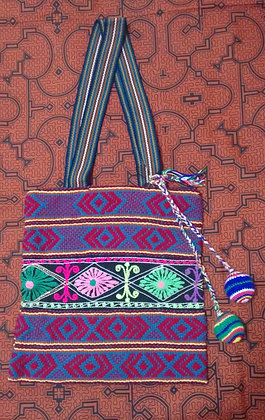 Purse/Hand-Bag - Handmade Andean  Bag