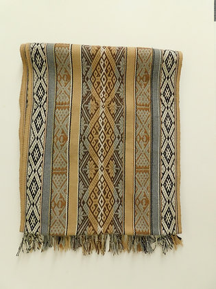 Textile Table Runner/Shawl - Andean Textiles - Handmade by Quechua Nativ