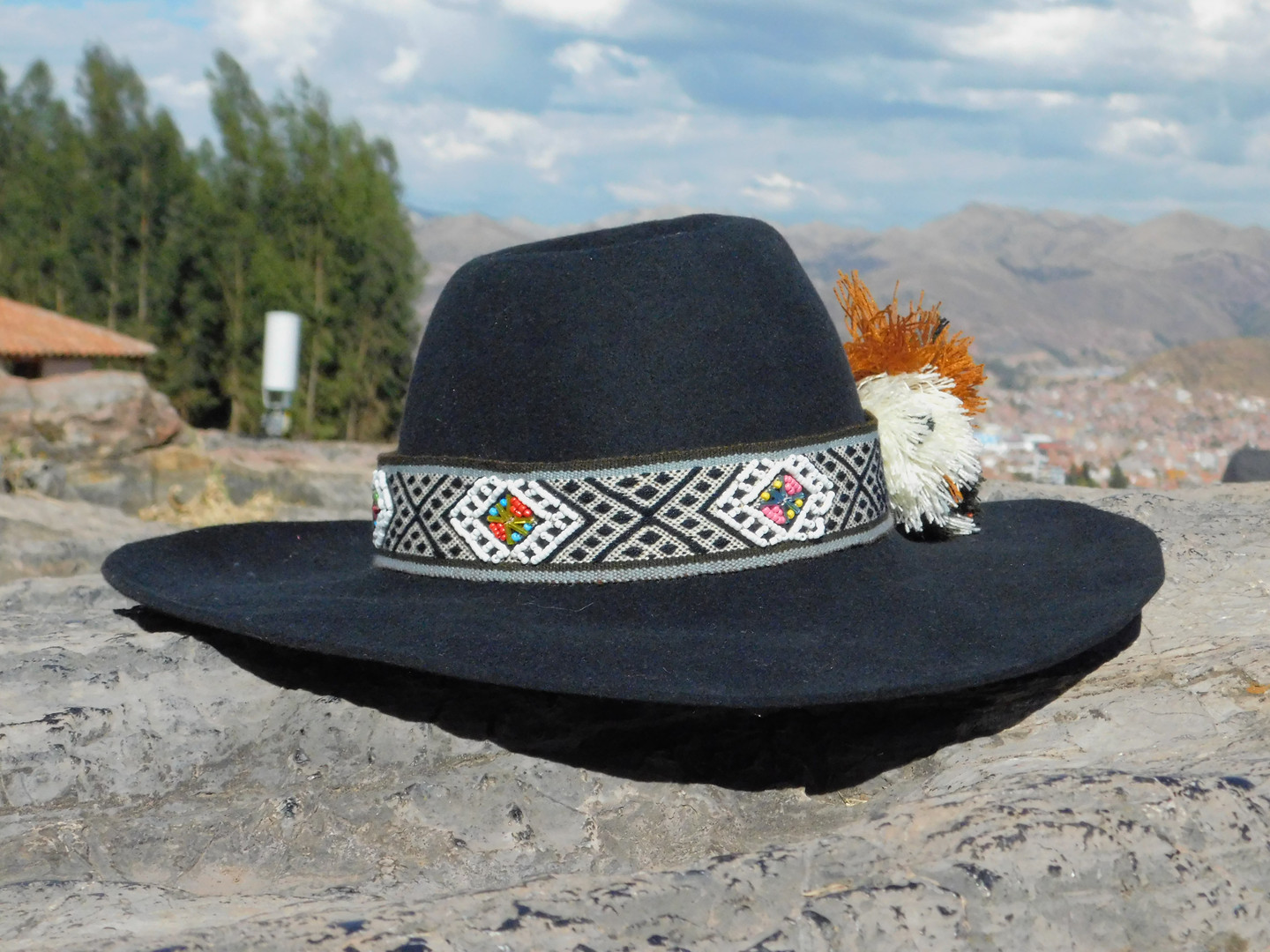 Peruvian sun hat for adults!