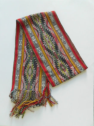 Textile Scarf - Andean Textiles made by Quechua Natives from Peru - Baby