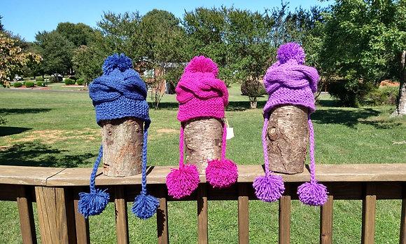 Pompon Hats
