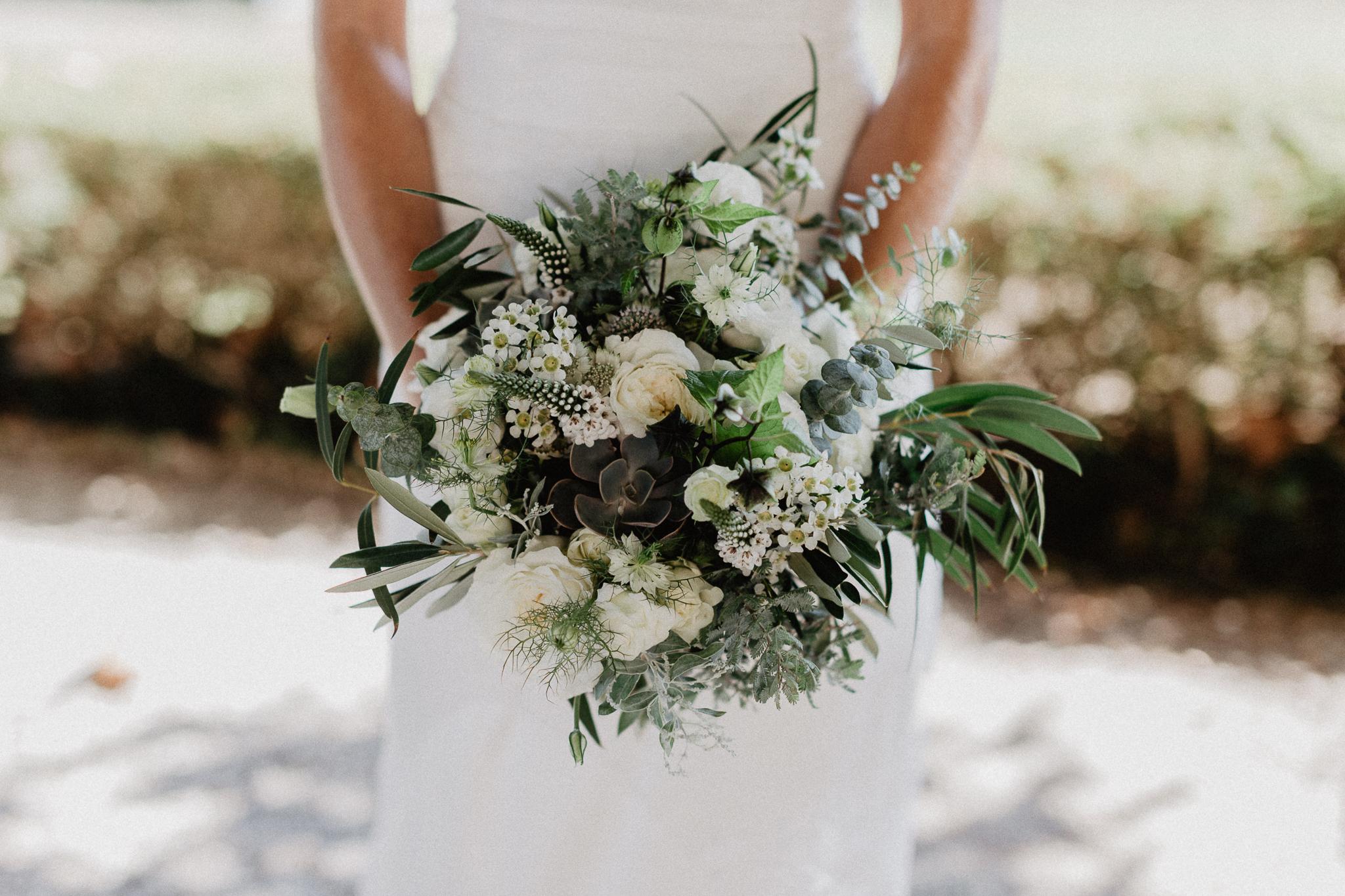 Photographie fleuriste mariage