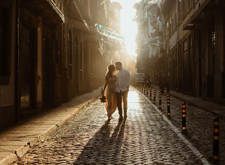 Séance couple intimiste à Porto