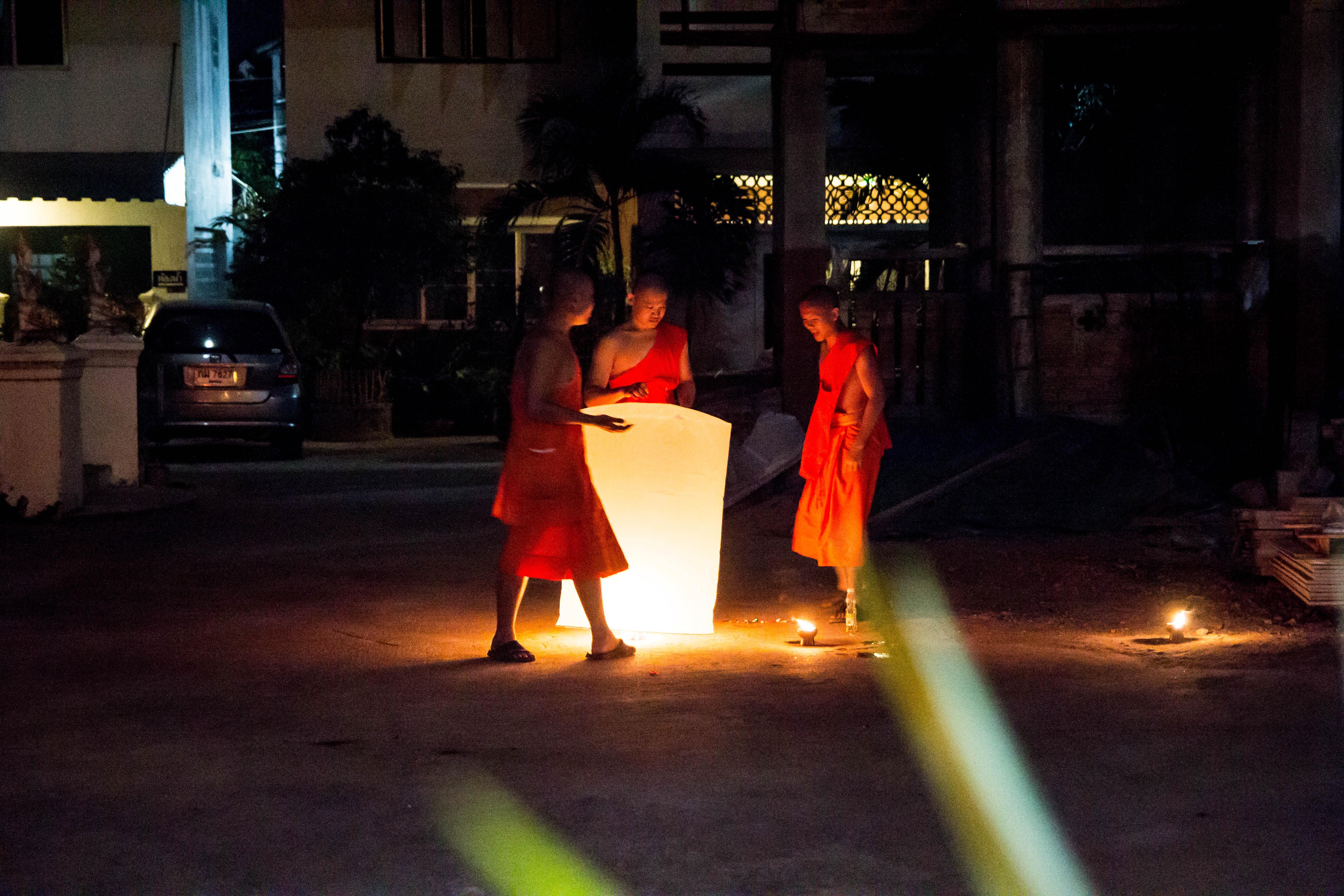 Yi peng Monk