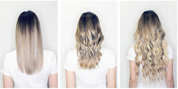 Hair extension or wig step by step tutor