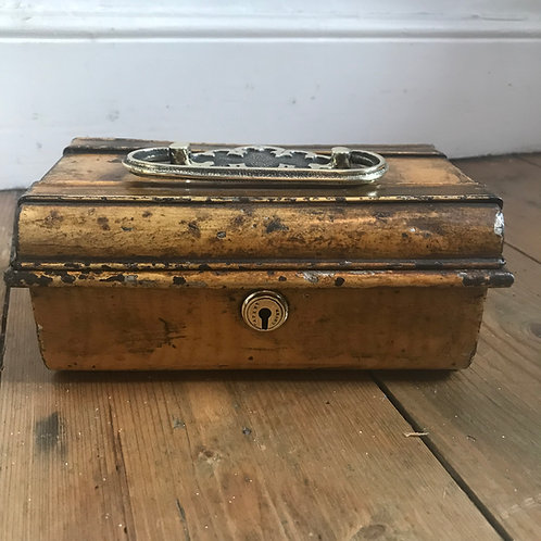Metal and Brass Money Tin