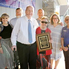 Long-time friends honored -         Alum Jason Davis shares testimony