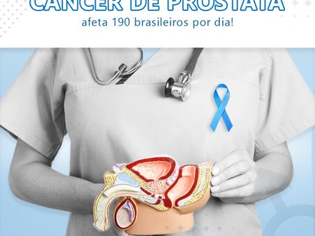 Câncer de próstata afeta 190 brasileiros por dia