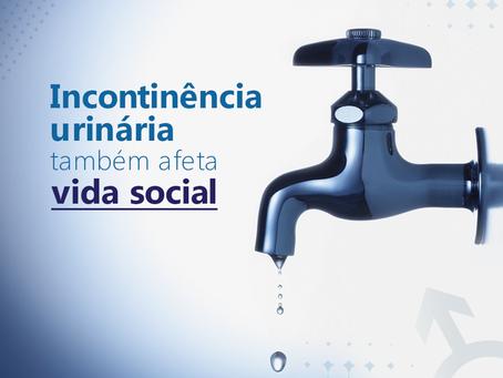 Incontinência urinária também afeta vida social