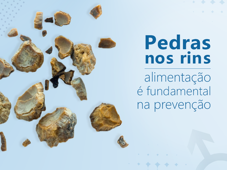 Pedra nos rins: alimentação é fundamental na prevenção