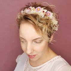 Inspiration mariée cheveux courts