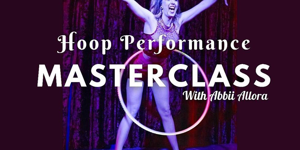 Hoop Performance Masterclass - Allorette's