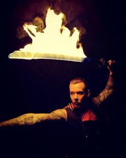 Fiery Swordsman