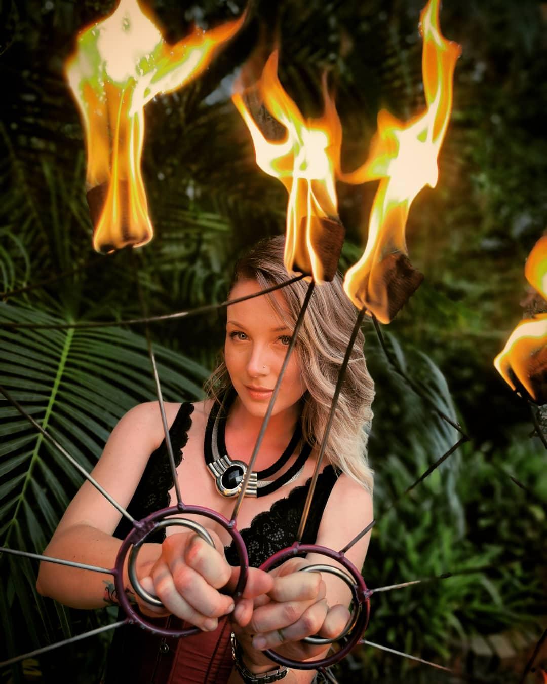 Fiery Fans