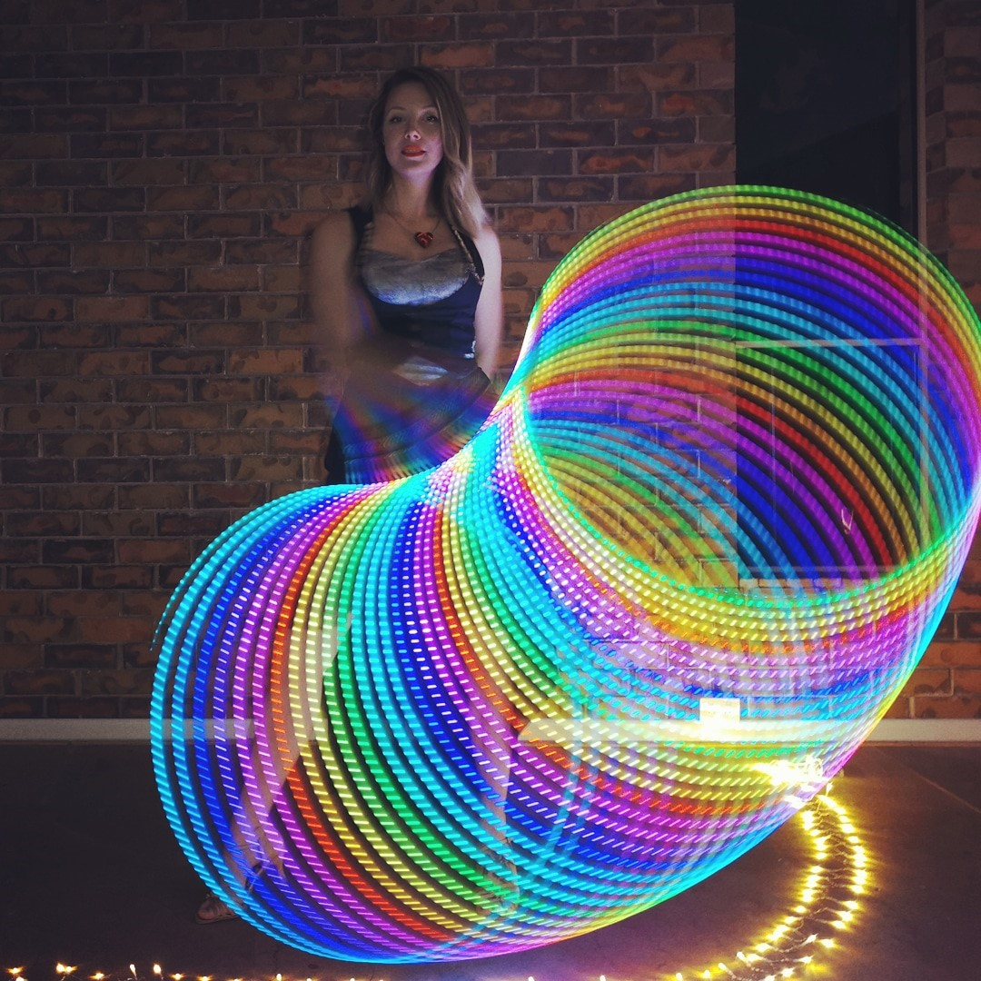Mesmerizing Led Hula Hoop