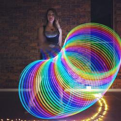 Mesmerizing Led Hula Hoop