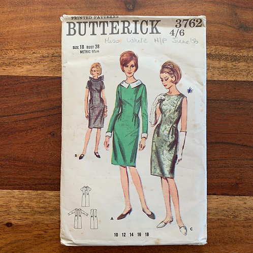 1960s Butterick Pattern