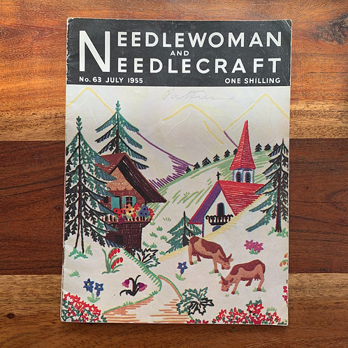 1955 Needlewoman and Needlecraft