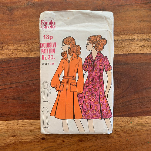 1970s Sewing Pattern