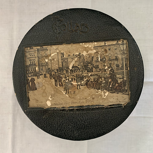 Edwardian Antique Collar Box