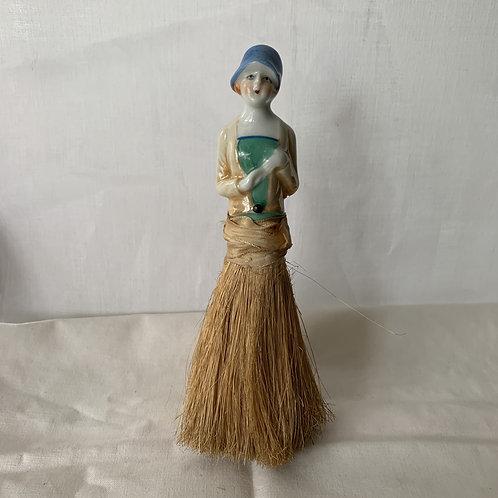 1920s Porcelain Crumb Brush