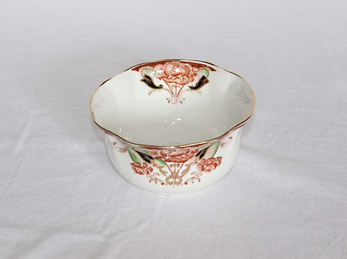19th Century Floral Sugar Bowl
