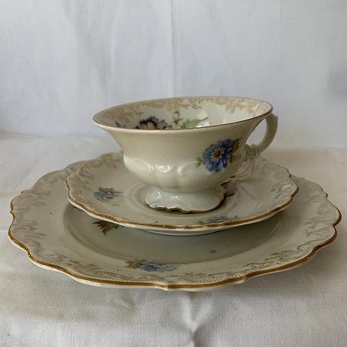 1930s Tea trio