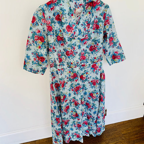 Vintage 1950s Dress - size 14/16