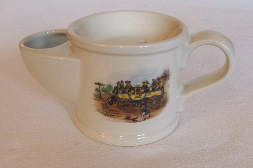 Vintage Wade Pottery Printed Shaving Mug