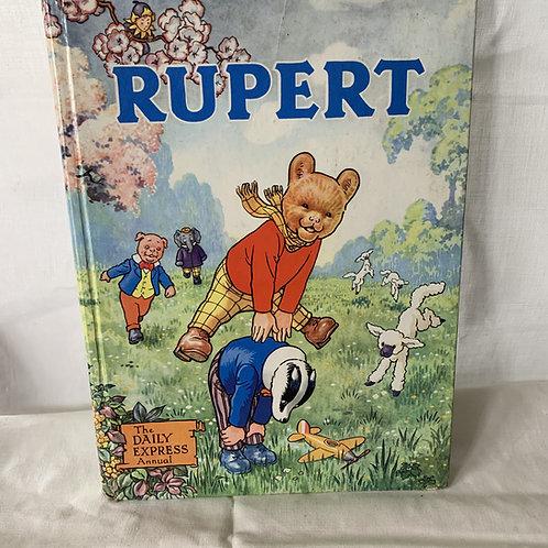 1958 RUPERT ANNUAL