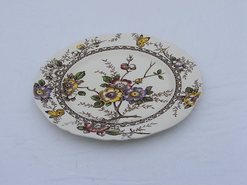 """Alfred Meakin 1930's Medway Decor 10"""" Dinner Plate"""
