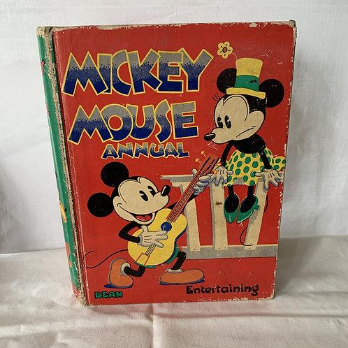 1935 Original Mickey Mouse Annual