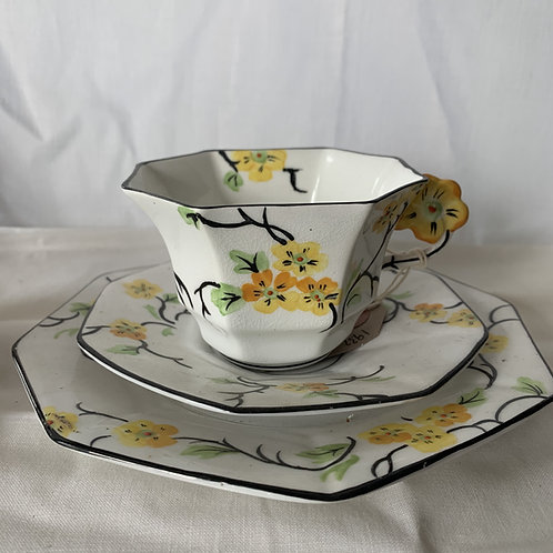 1932 ART DECO tea trio