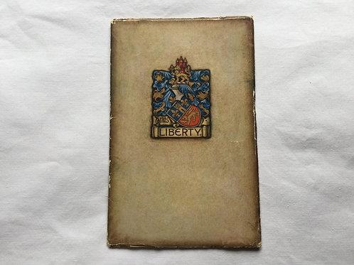 Liberty catalogue  1932-1933