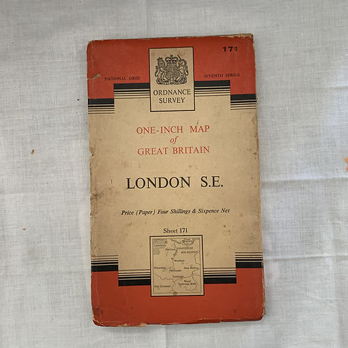 Ordnance Survey - LONDON S.E