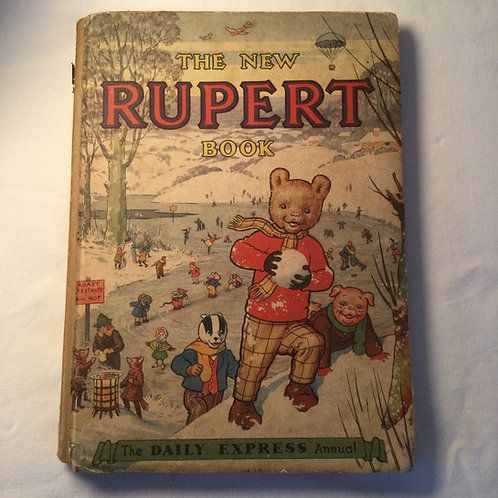 """The New Rupert Book""  1951"