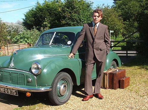 Vintage St Michael Brown Worsted Medium Suit