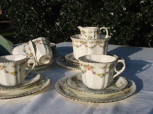 Pheonix Bone China Thomas Forester Tea Trio