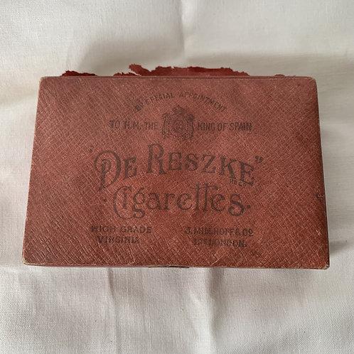 1920s Cigarette Carton