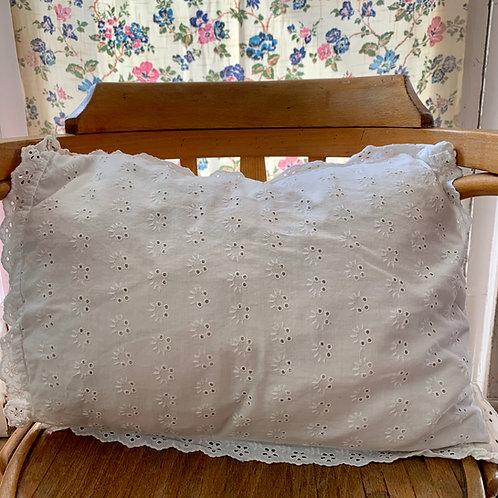 Broderie Anglaise Cushion