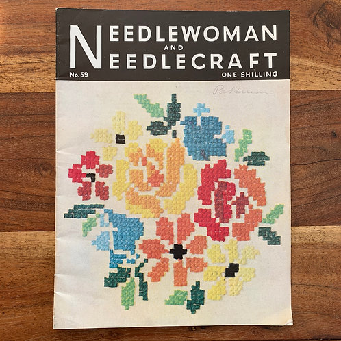 1940s Needlewoman and Needlecraft