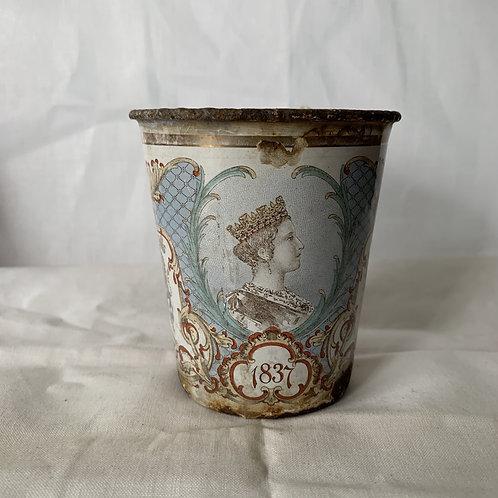 Queen Victoria Enamelled Beaker