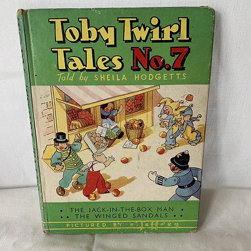 Toby Twirl Tales no7 - 1952