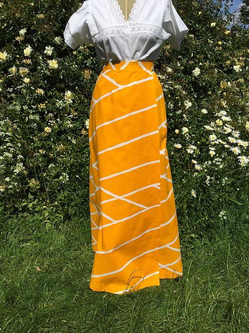 "1970s maxi skirt by ""Marketta"""